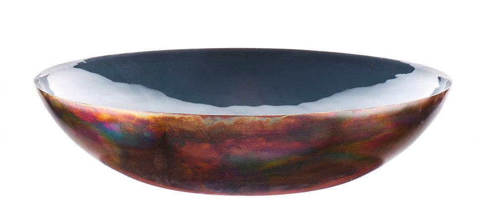 Corbeille à fruits en métal Ø35cm - Basalte