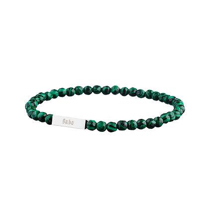 Bracelet Mirabeau vert - pierres naturelles