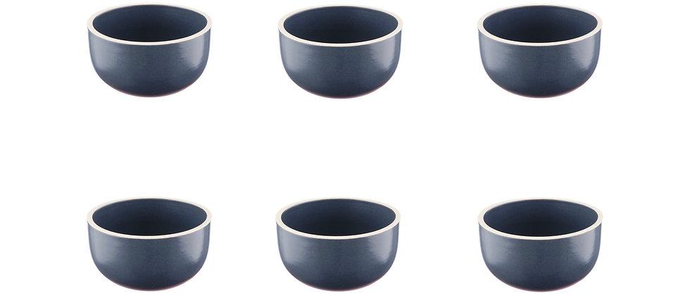 Bol ORIGIN Ø9cm - 6 pièces - Basalte