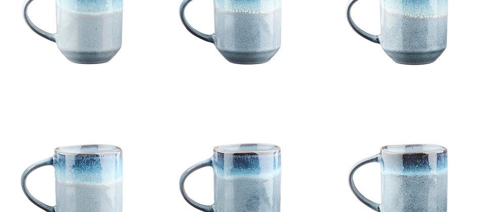 Mug GENESIS 40cl - 6 pièces - Mer