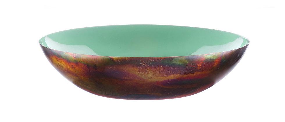 Corbeille à fruits en métal Ø30cm - Jade