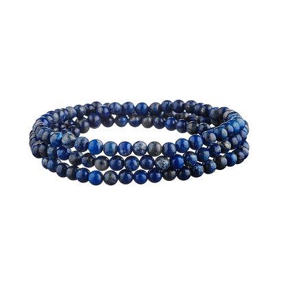 Bracelet Tuileries bleu - pierres naturelles