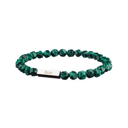 Bracelet Vaugirard vert - pierres naturelles