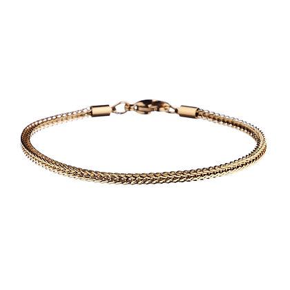 Bracelet Versailles doré - acier