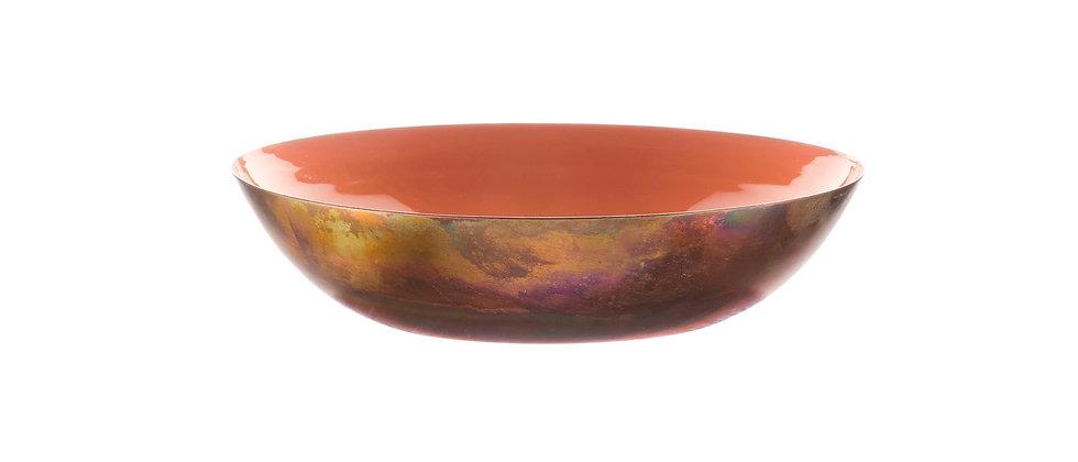 Corbeille à fruits en métal Ø25cm - Terracotta