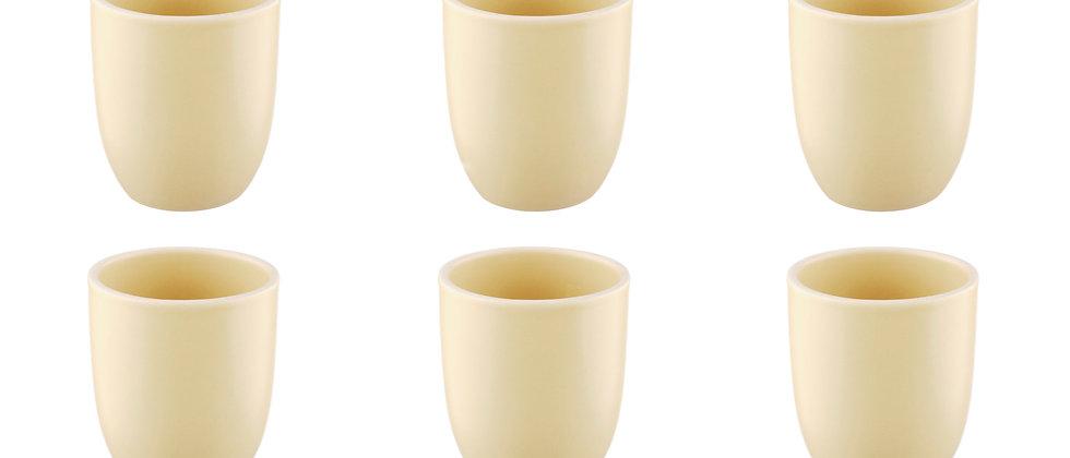 Mug ORIGIN 20cl - 6 pièces - Sable