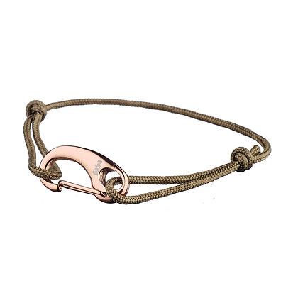 Bracelet Lamarck kaki
