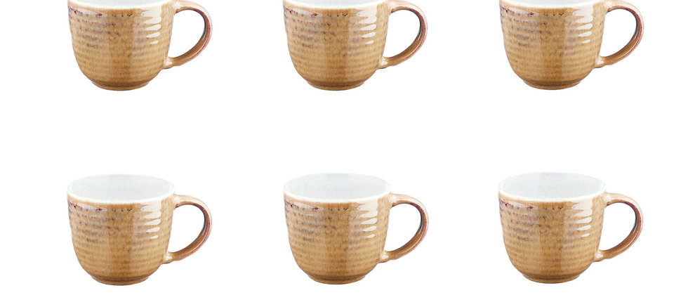 Mug COSMOS 30cl - 6 pièces - Crème