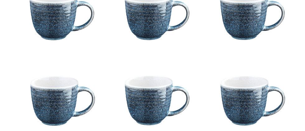 Mug COSMOS 30cl - 6 pièces - Azur