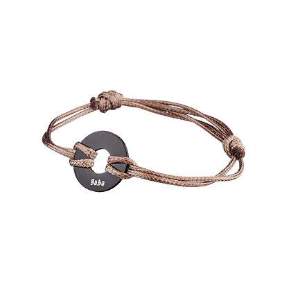 Bracelet Argentine beige