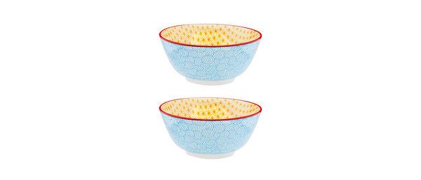 Bol petit-déjeuner Ø15cm Swirl - 2 pièces - Collection COLOR