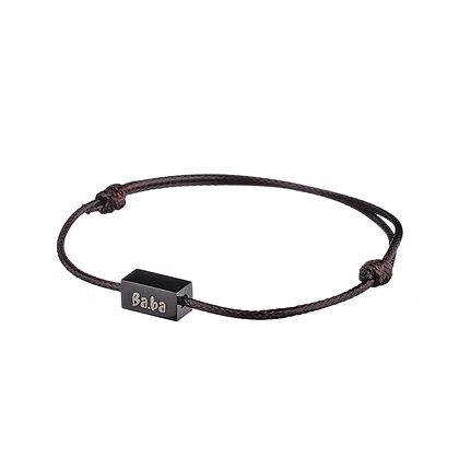 Bracelet Pont Marie marron
