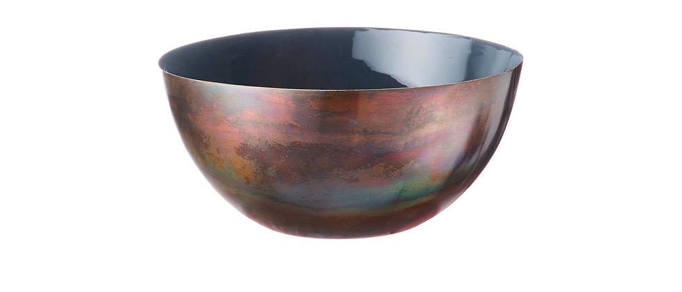 Saladier en métal Ø20cm - Basalte