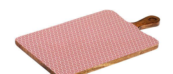 Planche de service en bois de manguier 27x48cm - Rainbow Color