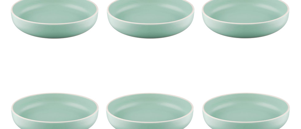 Assiette creuse ORIGIN Ø22cm - 6 pièces - Jade