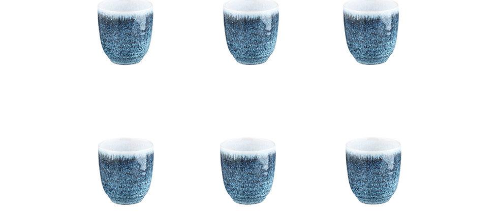 Tasse COSMOS 15cl - 6 pièces - Azur