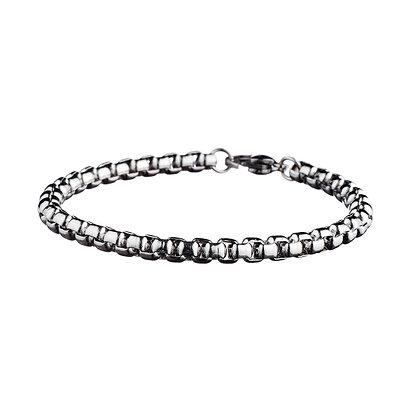 Bracelet Agnettes métal - acier