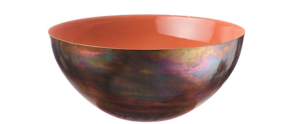Saladier en métal Ø25cm - Terracotta