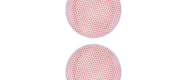 Assiette plate Ø26cm Star - 2 pièces - Collection COLOR