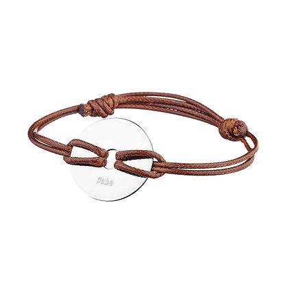 Bracelet Les Halles camel