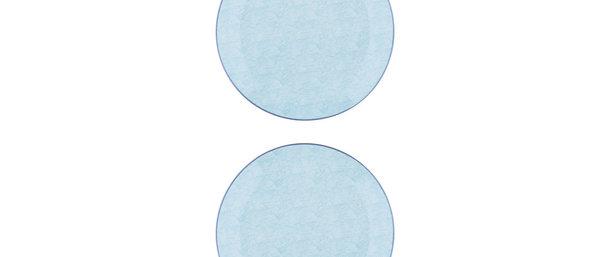 Assiette plate Ø26cm Storm - 2 pièces - Collection PASTEL