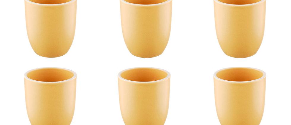 Mug ORIGIN 20cl - 6 pièces - Safran