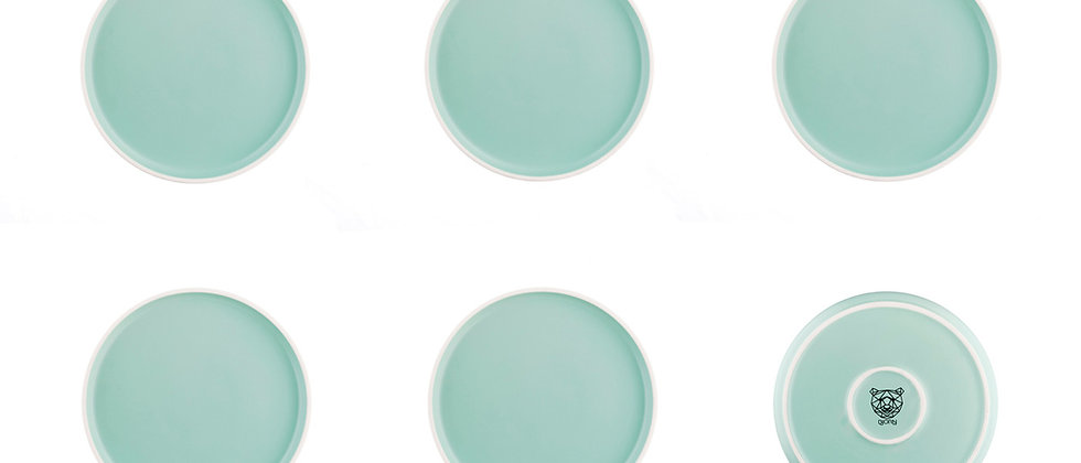 Assiette ORIGIN Ø20,5cm - 6 pièces - Jade