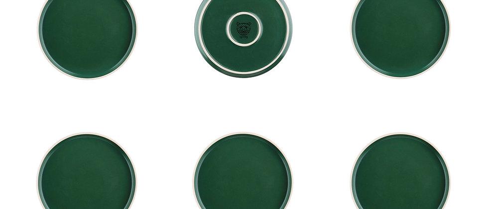 Assiette ORIGIN Ø20,5cm - 6 pièces - Sapin
