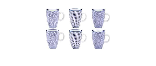 Tasse à café 9cl - 6 pièces - Collection DARK