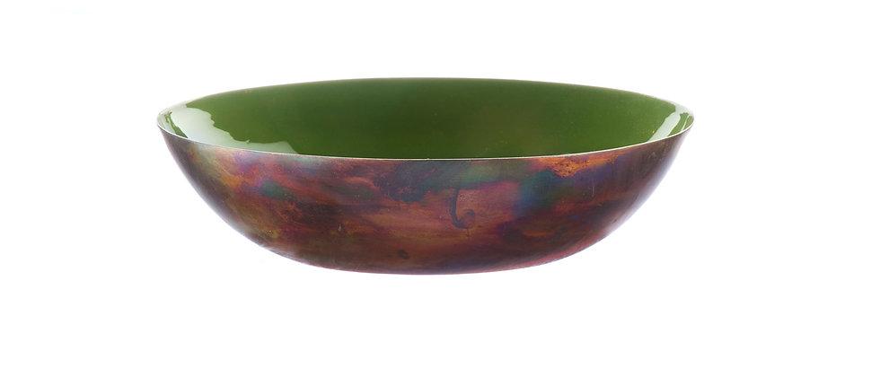 Corbeille à fruits en métal Ø25cm - Argile