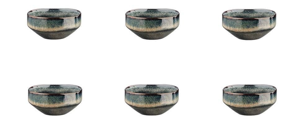 Bol GENESIS Ø11cm - 6 pièces - Terre