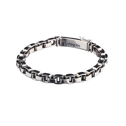 Bracelet Saint-Fargeau - argent massif 925