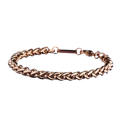 Bracelet Châtillon rose doré - acier