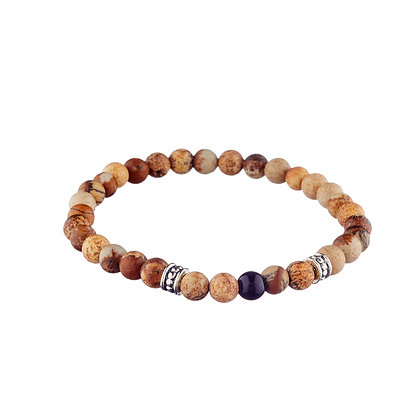 Bracelet Ledru-Rollin - pierres naturelles