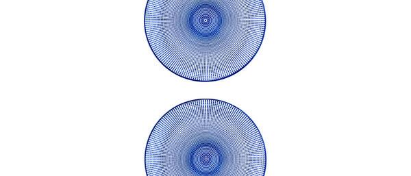 Assiette plate Ø26cm Sun - 2 pièces - Collection DARK