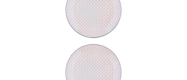 Assiette plate Ø26cm Fan - 2 pièces - Collection PASTEL