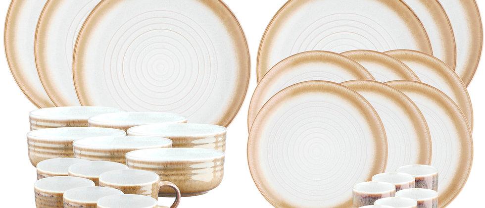 Service Complet COSMOS - 30 pièces - Crème