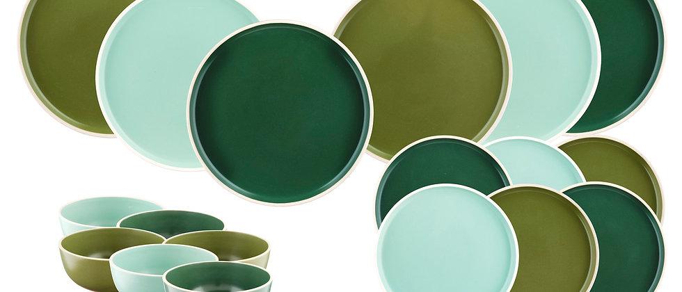 Service Les Essentiels ORIGIN - 18 pièces - Green touch