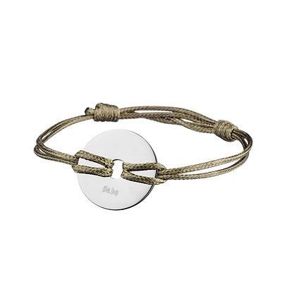 Bracelet Les Halles kaki