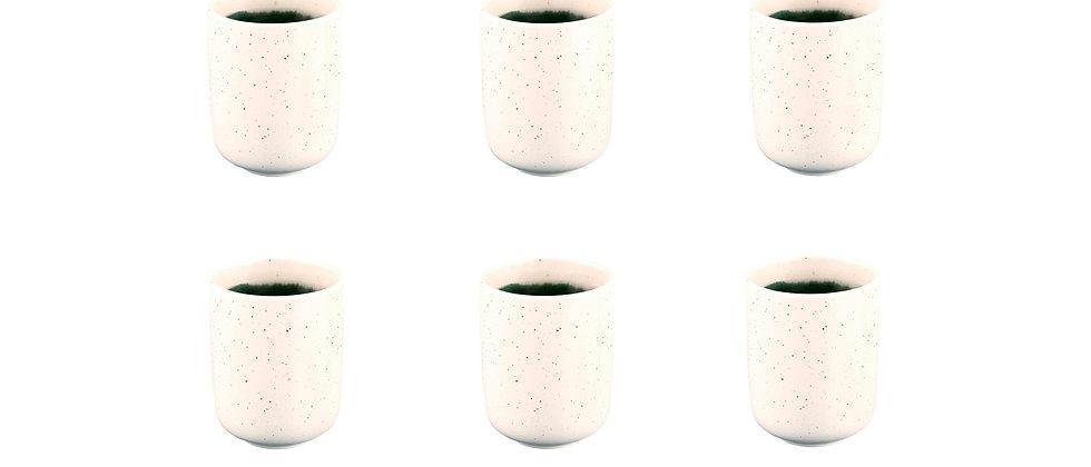 Mug OXYGEN 30cl - 6 pièces - Vert de gris