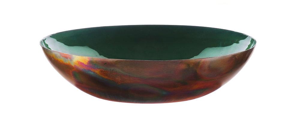 Corbeille à fruits en métal Ø30cm - Sapin