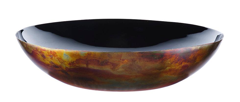 Corbeille à fruits en métal Ø35cm - Charbon