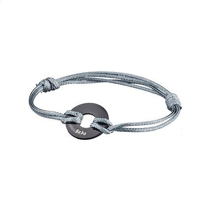 Bracelet Argentine gris
