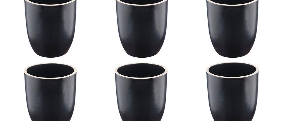 Mug ORIGIN 20cl - 6 pièces - Charbon