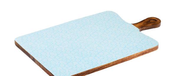 Planche de service en bois de manguier 27x48cm - Swirl Color