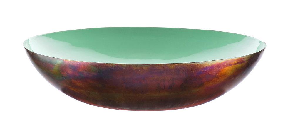 Corbeille à fruits en métal Ø35cm - Jade