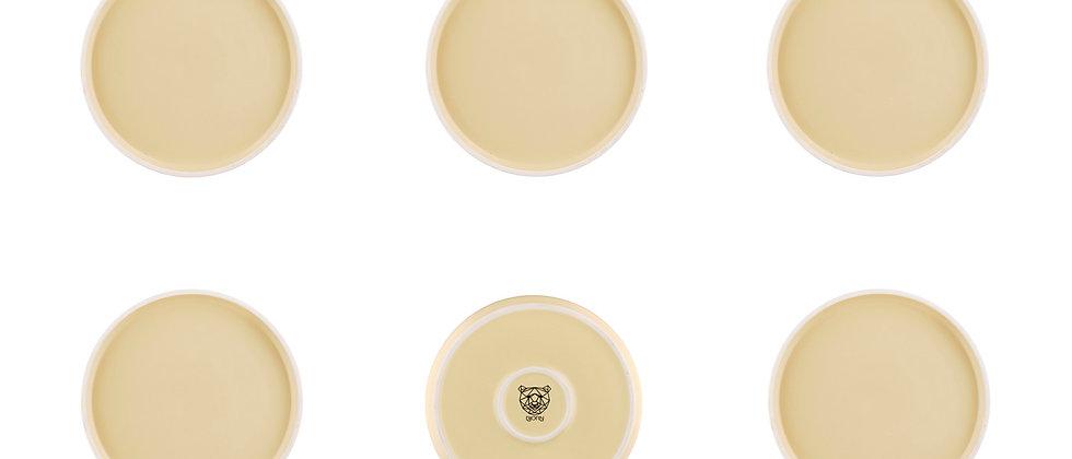 Assiette ORIGIN Ø20,5cm - 6 pièces - Sable