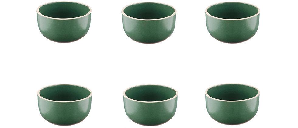 Bol ORIGIN Ø9cm - 6 pièces - Sapin