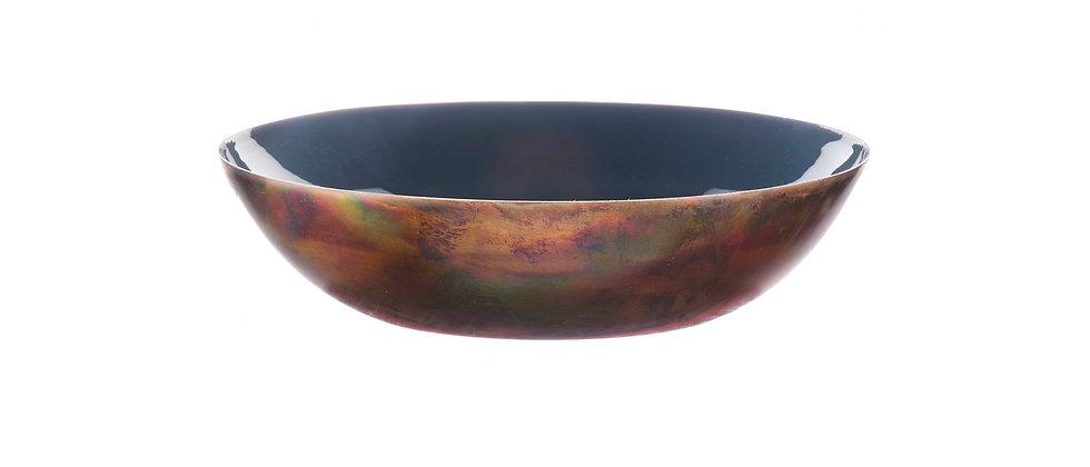 Corbeille à fruits en métal Ø25cm - Basalte