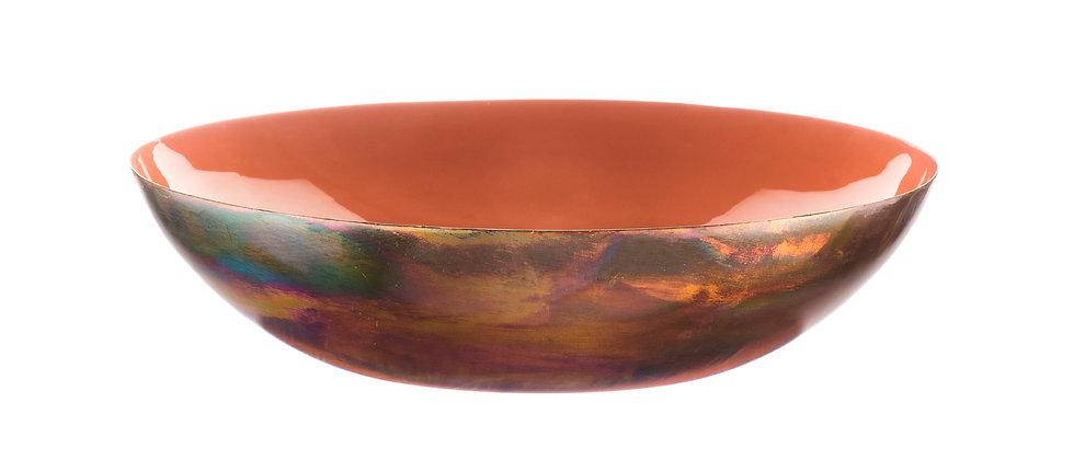 Corbeille à fruits en métal Ø30cm - Terracotta